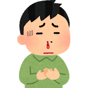 ワクチンのデトックスで鼻からすごいものが・・・・。(片上敦子 当時40歳)