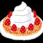 パンケーキ生クリーム